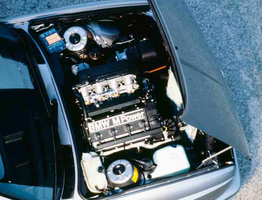 BMW M3 History E30 Specification Engine