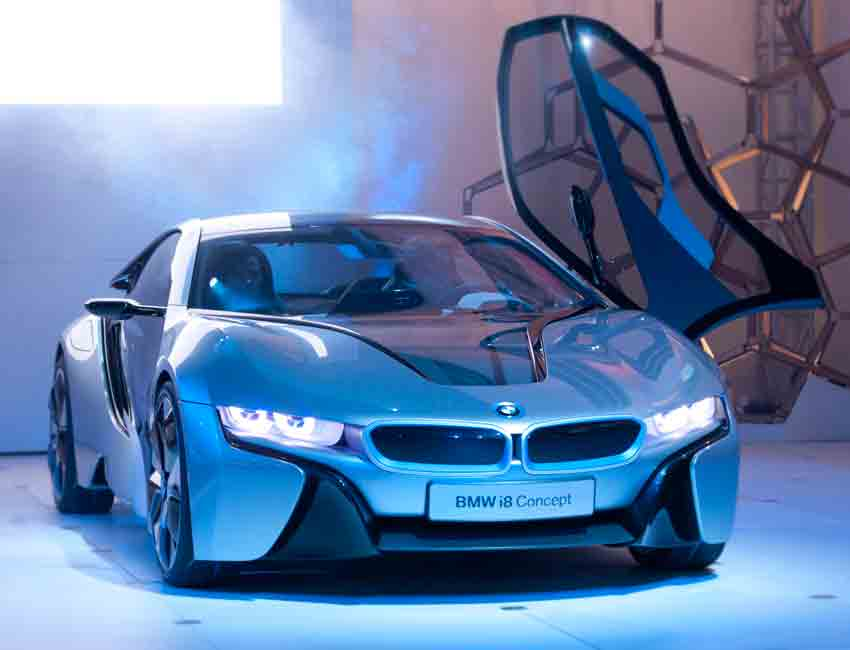 BMW i8 Plug-in Hybrid Coupe Performance Technical Specifications