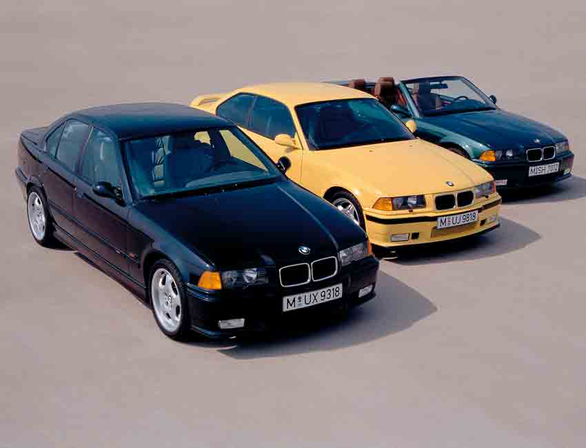 BMW M3 History E36 Specification