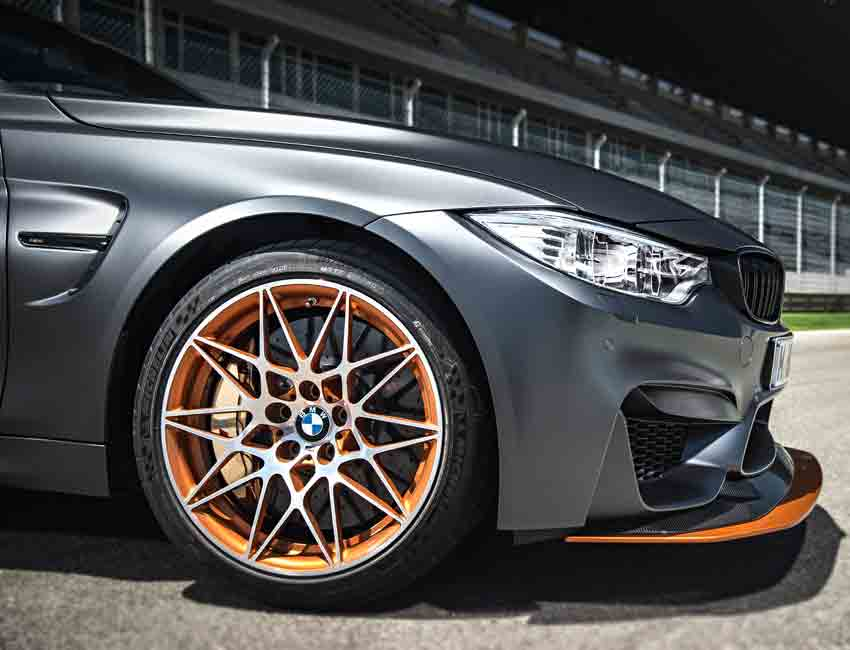 BMW M4 GTS 500HP Wheels and Tires