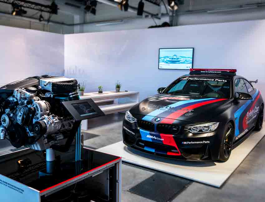 3 New Technologies that Made the BMW M4 GTS One-of-a-Kind Water Injection