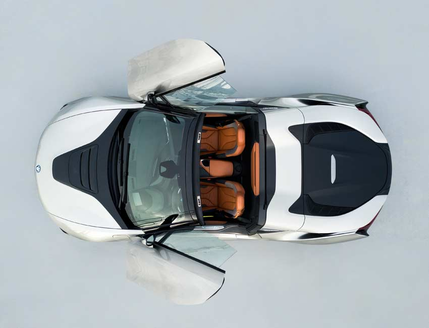 BMW i8 Convertible Roadster