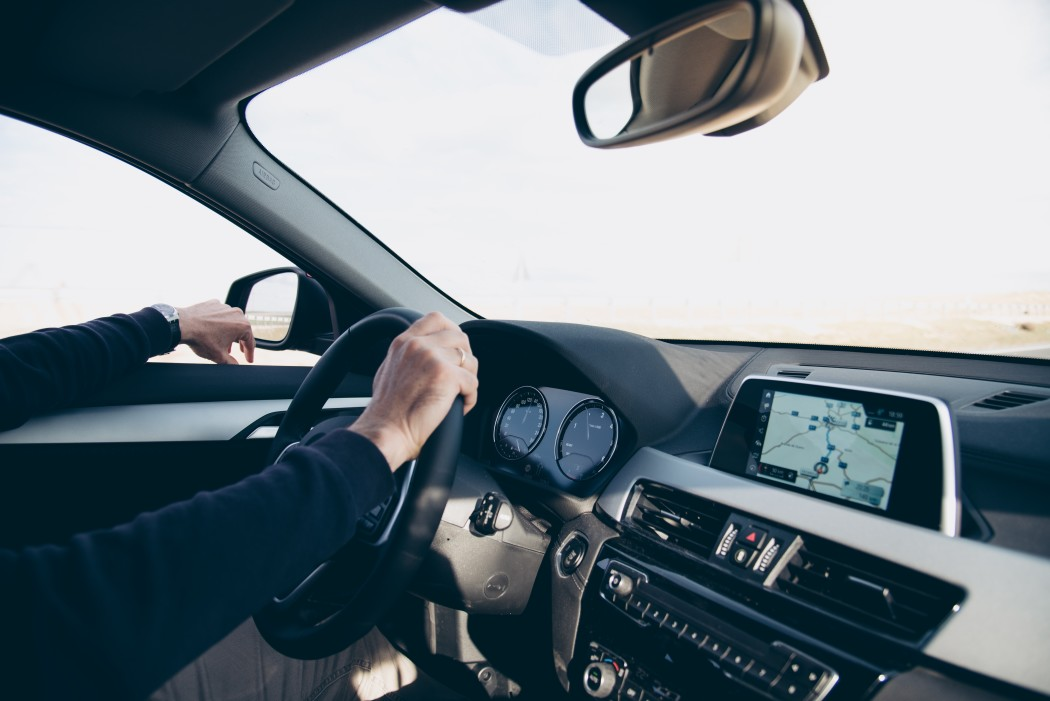 bmw 5 series driving view