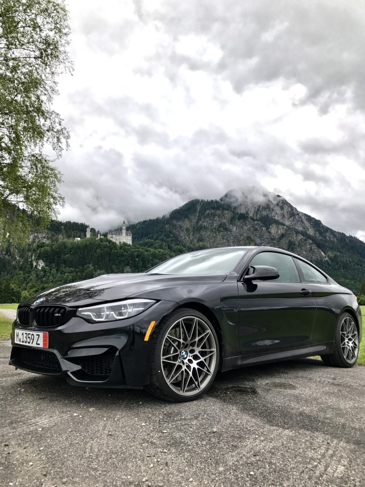bmw m4 in mountains