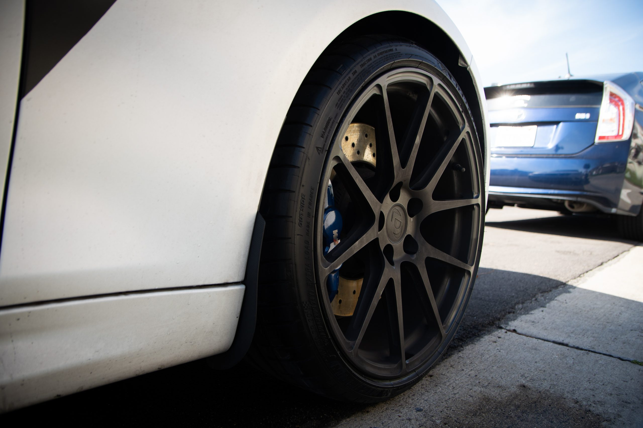 how to clean bmw rims